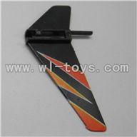 WL V911-21 Vertical wing(1pcs)-Orange WLtoys V911 WL V911-1 RC Helicopter Spare Parts WL Toys rc model
