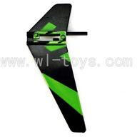 WL V911-24 Vertical wing (1pcs)-Green WLtoys V911 WL V911-1 RC Helicopter Spare Parts WL Toys rc model