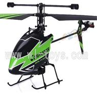 WL V911-55 Single helicopter(No battery,No remote control)-Green,WLtoys V911-1 RC Helicopter WL Toys rc model