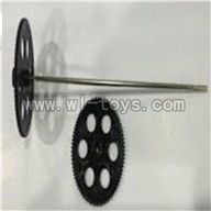 S39-parts-07 Upper main gear & Lower main gear with inner shaft SYMA S39 RC helicopter Spare Parts Syma TOYS model