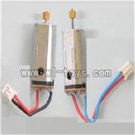 S39-parts-13 Main motor A with long shaft and gear & Main motor B with short shaft and gear SYMA S39 RC helicopter Spare Parts Syma TOYS model