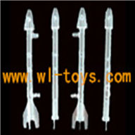 G.T.MODEL GT QS8006 rc helicopter Spare parts QS 8006 Accessories QS8006-020 Left&right Light missiles