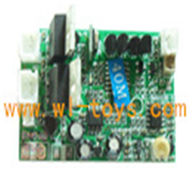G.T.MODEL GT QS8006 rc helicopter Spare parts QS 8006 Accessories QS8006 parts-021 PCB Receiver Board