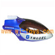 G.T.MODEL GT QS8006 rc helicopter Spare parts QS 8006 Accessories QS8006-024 Head Cover(Blue)