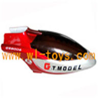 G.T.MODEL GT QS8006 rc helicopter Spare parts QS 8006 Accessories QS8006-025 Head Cover(red)