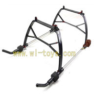 G.T.MODEL HELICOPTER GT toys QS 8008 rc helicopter Spare parts QS8008-helicopter-33-parts Landing skid