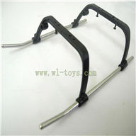 FX078-parts-26 Landing skid Feilun toys FX078 rc helicopter Spare parts FX 078 model Accessories
