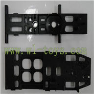 FX078-parts-28 Upper Main frame & Lower main frame Feilun toys FX078 rc helicopter Spare parts FX 078 model Accessories