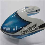 WLtoys v977-parts-01 Head cover,WLtoys V977 rc helicopter,Wl toys V977 helicopter Parts,WLtoysrc Model