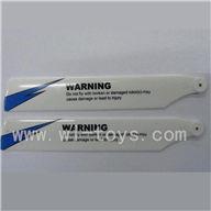 WLtoys v977-parts-02 Main blades(2pcs) WLtoys V977 helicopter Parts Wl toys V977 rc helicopter Model
