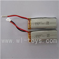 WLtoys V930-parts-06 Battery(2pcs) WLtoys V930 rc helicopter Spare parts WL toys V930 helikopter model Accessories