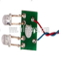 SYMA-X4-parts-12 Light Circuit Board SYMA X4 Quadrocopter SYMARC X4 TOYS model and Syma X4 rc helicopter parts