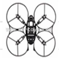 SYMA-X4-parts-14 Fuselage SYMA X4 Quadrocopter SYMARC X4 TOYS model and Syma X4 rc helicopter parts