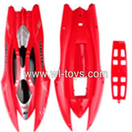 SYMA-X7-parts-01 Body (red) SYMA X7 Quadrocopter SYMARC X7 TOYS model and Syma X7 rc helicopter parts