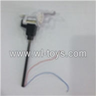 SYMA-X7-parts-09 Reversing-rotating Motor Assembly D(Black & White wire)