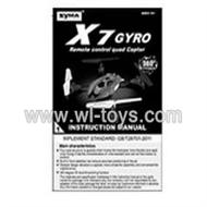 SYMA-X7-parts-13 Manual SYMA X7 Quadrocopter SYMARC X7 TOYS model and Syma X7 rc helicopter parts