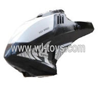 SYMA-F4-parts-01 Head cover(Black) SYMA F4 rc helicopter Spare parts SYMA TOYS model F4 helikopter Accessories