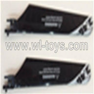 SYMA-F4-parts-03 Main Blades (2pcs-black) SYMA F4 rc helicopter Spare parts SYMA TOYS model F4 helikopter Accessories
