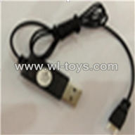 SYMA-F4-parts-23 USB Charge Cable SYMA F4 rc helicopter Spare parts SYMA TOYS model F4 helikopter Accessories