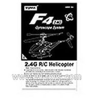 SYMA-F4-parts-25 Manual SYMA F4 rc helicopter Spare parts SYMA TOYS model F4 helikopter Accessories