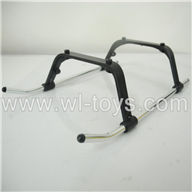 BR6098T-parts-05 Landing skid BORONG BR6098T RC Helicopter Parts BR 6098T toys model helikopter Accessories