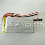 BR6098T-parts-20 3.7v Battery BORONG BR6098T RC Helicopter Parts BR 6098T toys model helikopter Accessories