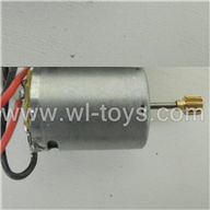 BR6098T-parts-22 Main motor with long shaft and gear BORONG BR6098T RC Helicopter Parts BR 6098T toys model helikopter Accessories