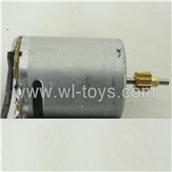 BR6098T-parts-23 Main motor with short shaft and gear BORONG BR6098T RC Helicopter Parts BR 6098T toys model helikopter Accessories