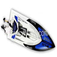 WL912-boat-parts-22 BNF(Only boat,no battery,no charger,no Transmitter)-White-Boat-all
