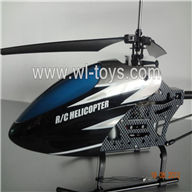 Mingji 206 rc helicopter,Mingji toys model 206 helicopter parts list