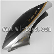 H227-25-parts-04 Hover,Head cover(Round shape black) Can use for HTX H227-21,H227-23,H227-27,H227-26 RC Helicopter