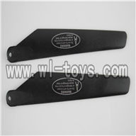 H227-21-parts-06 Upper main blades(2A),Can use for HTX H227-23,H227-25,H227-26,H227-27 RC Helicopter