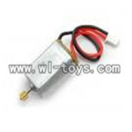 H227-21-parts-16 Main motor A with long shaft and gear,Can use for HTX H227-23,H227-25,H227-26,H227-27 RC Helicopter