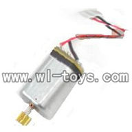 H227-21-parts-18 Tail motor with copper gear,Can use for HTX H227-23,H227-25,H227-26,H227-27 RC Helicopter