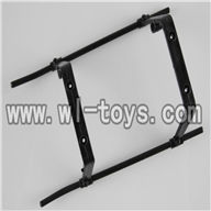 H227-25-parts-19 Landing skid (black),Can use for HTX H227-23,H227-21,H227-26,H227-27 RC Helicopter