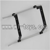 H227-21-parts-20 Landing skid (White),Can use for HTX H227-23,H227-25,H227-26,H227-27 RC Helicopter