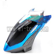 H227-20-parts-01 Hover,Head cover(Blue),Can use for HTX model toys H227-20,H227-22,H227-24 RC Helicopter