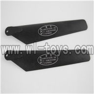 H227-20-parts-07 Lower main blades(2B),Can use for HTX model toys H227-20,H227-22,H227-24 RC Helicopter