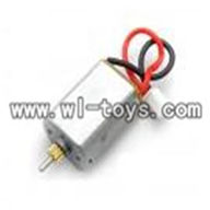 H227-20-parts-17 Main motor B with Short shaft and gear,Can use for HTX model toys H227-20,H227-22,H227-24 RC Helicopter