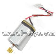 H227-20-parts-18 Tail motor with copper gear,Can use for HTX model toys H227-20,H227-22,H227-24 RC Helicopter