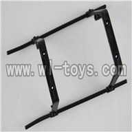 H227-20-parts-19 Landing skid (black),Can use for HTX model toys H227-20,H227-22,H227-24 RC Helicopter