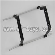 H227-20-parts-20 Landing skid (White),Can use for HTX model toys H227-20,H227-22,H227-24 RC Helicopter