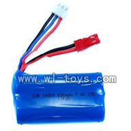 H227-20-parts-21 Battery 7.4v 650mah with JST Red plug,Can use for HTX model toys H227-20,H227-22,H227-24 RC Helicopter