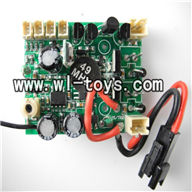 H227-20-parts-22 Circuit board,Receiver board,Can use for HTX model toys H227-20,H227-22,H227-24 RC Helicopter