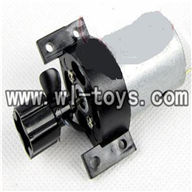 Double-horse-7000-01 Main motor with Drive shaft connections and fixtures,shuang ma 7000 rc boat and dh 7000 parts
