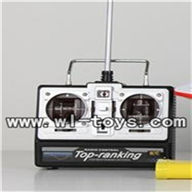 Double-horse-7000-06 Remote control with antenna,shuang ma 7000 rc boat and dh 7000 parts