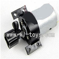 Double-horse-7004-01 Main motor with Drive shaft connections and fixtures ,shuang ma 7008 rc boat parts and dh 7004 parts