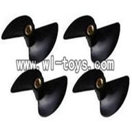 Double-horse-7010-04 Rotor blade(4pcs),shuang ma 7010 rc boat and dh 7010 parts