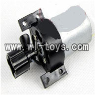 Double-horse-7010-05 Main motor with Drive shaft connections and fixtures,shuang ma 7010 rc boat and dh 7010 parts