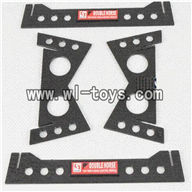 Double-horse-7010-06 Buttom frame,shuang ma 7010 rc boat and dh 7010 parts